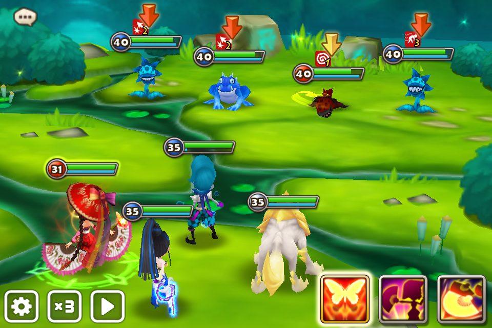 summoners war combat