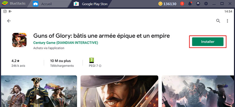 Installer Guns of Glory sur Google Play