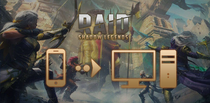 jouer à raid shadow legends sur pc