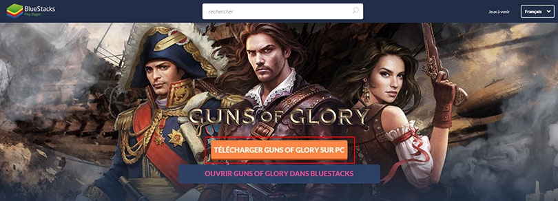 télécharger un émulateur android pour guns of glory