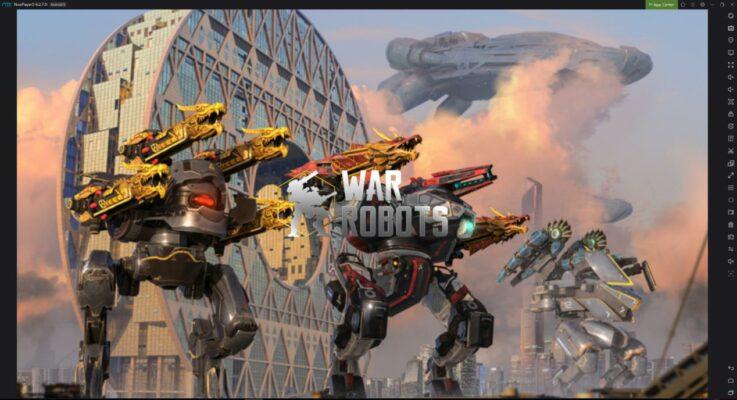 Update 5.4 of War Robots
