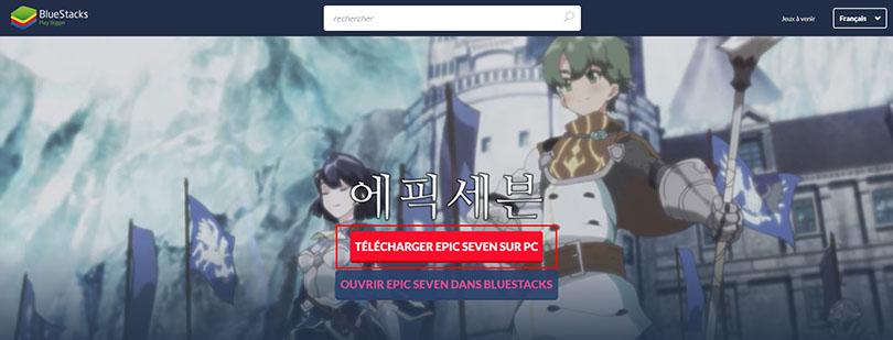 Télécharger un émulateur android pour Epic Seven