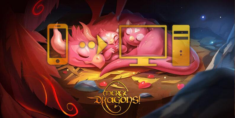 comment jouer à merge dragons sur pc