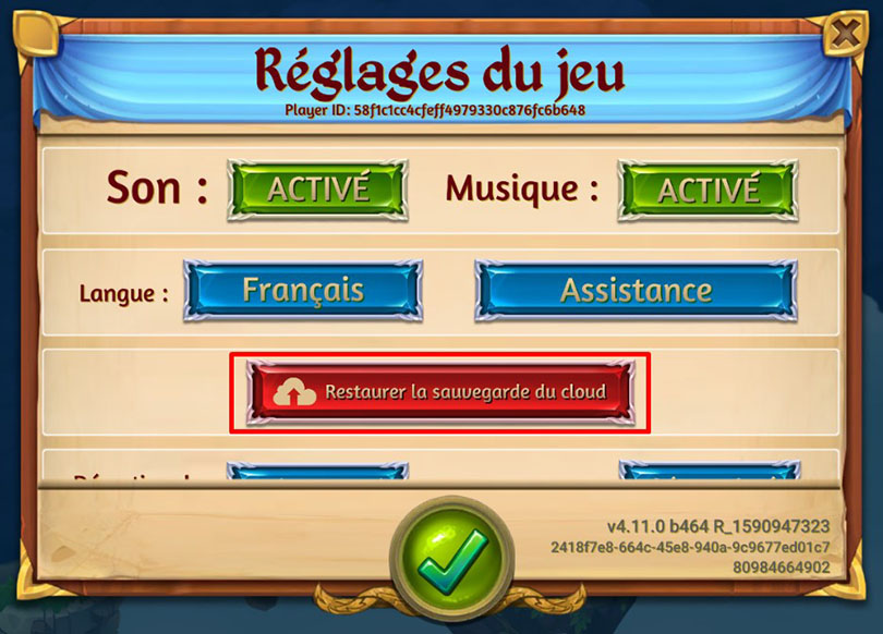 lier compte merge dragons