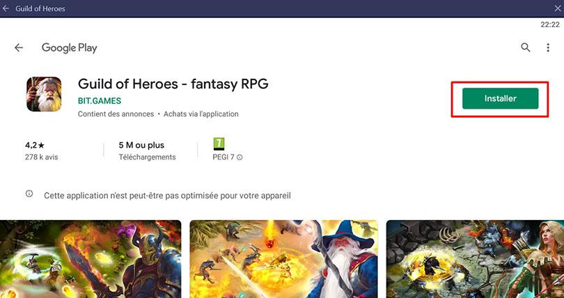 installer guild of heroes pc
