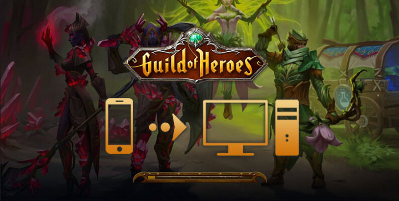 jouer à guild of heroes sur pc