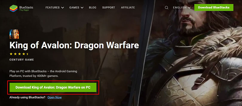 download page king of avalon pc