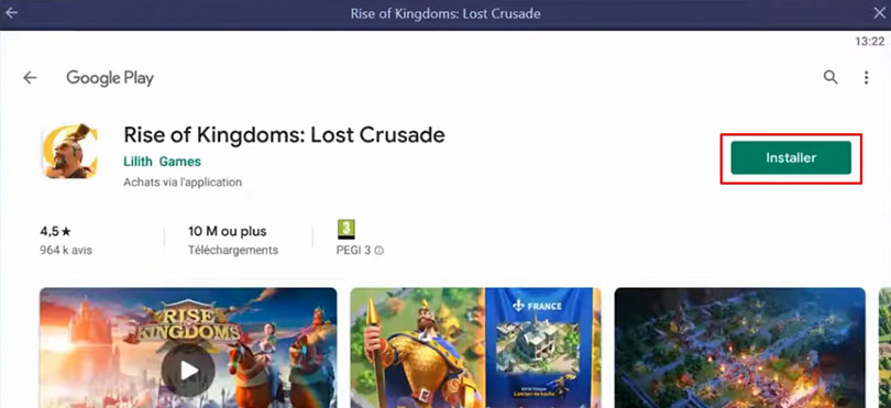 installer rise of kingdoms pc