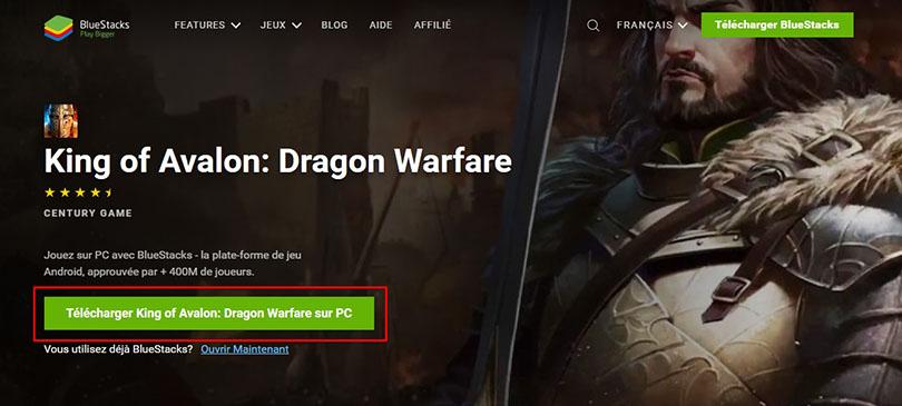 Télécharger King of Avalon pour jouer sur PC