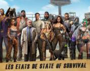 personnages et états states of survival