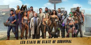 characters and states of survival