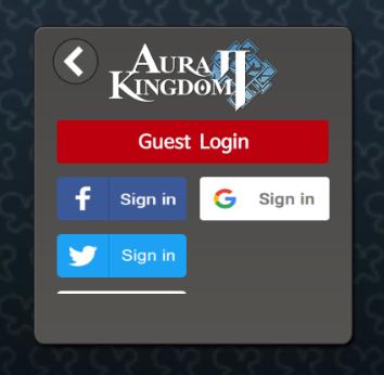connexion compte aura kingdom 2