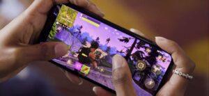 Fortnite sur mobile en 90 fps