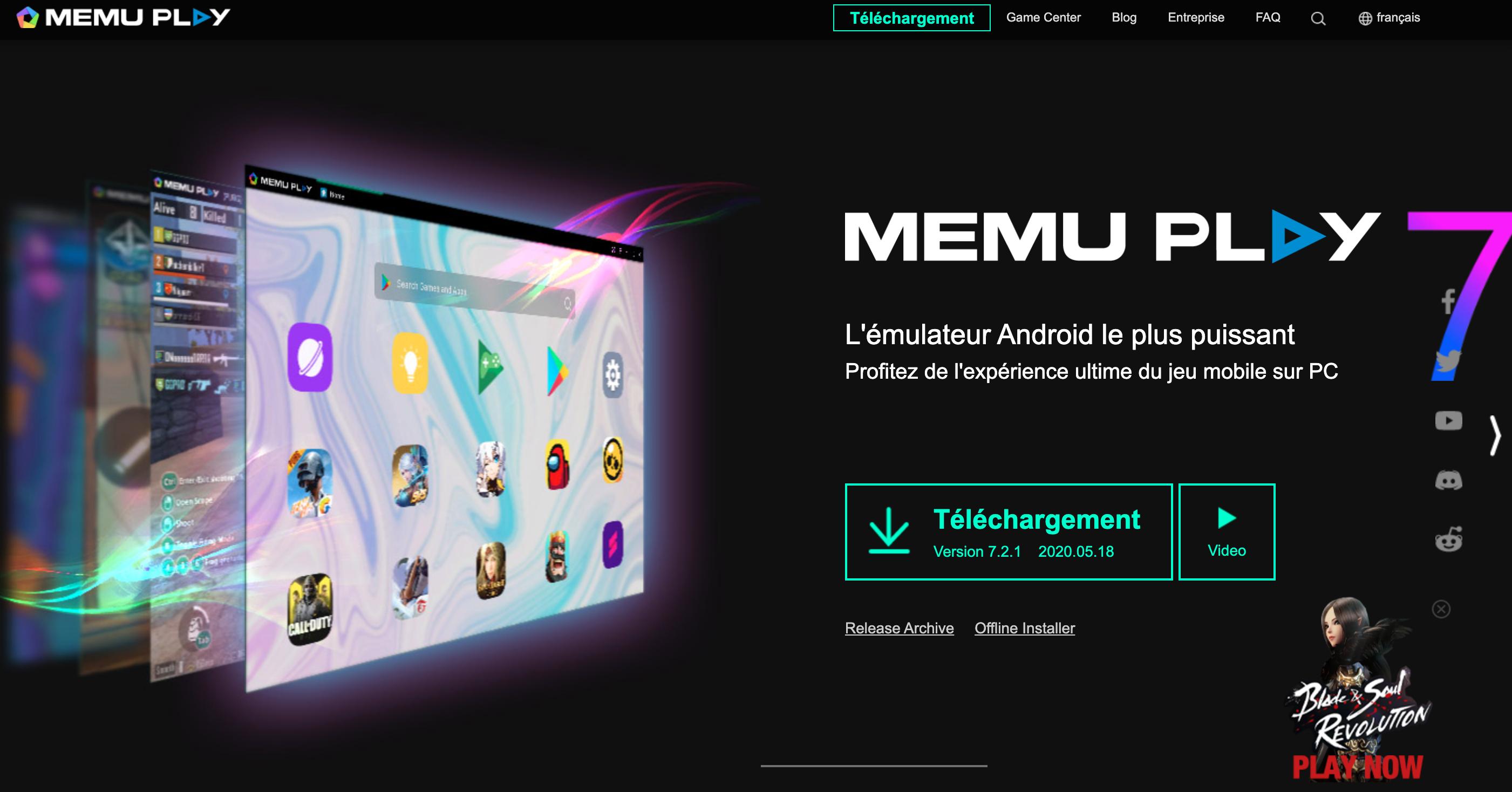 MEMu Play émulateur Android pour PC