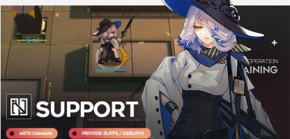 Guide Arknights - Supports