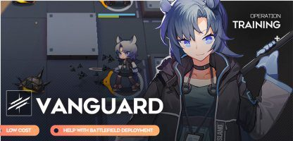 Guide Arknights - Vanguards
