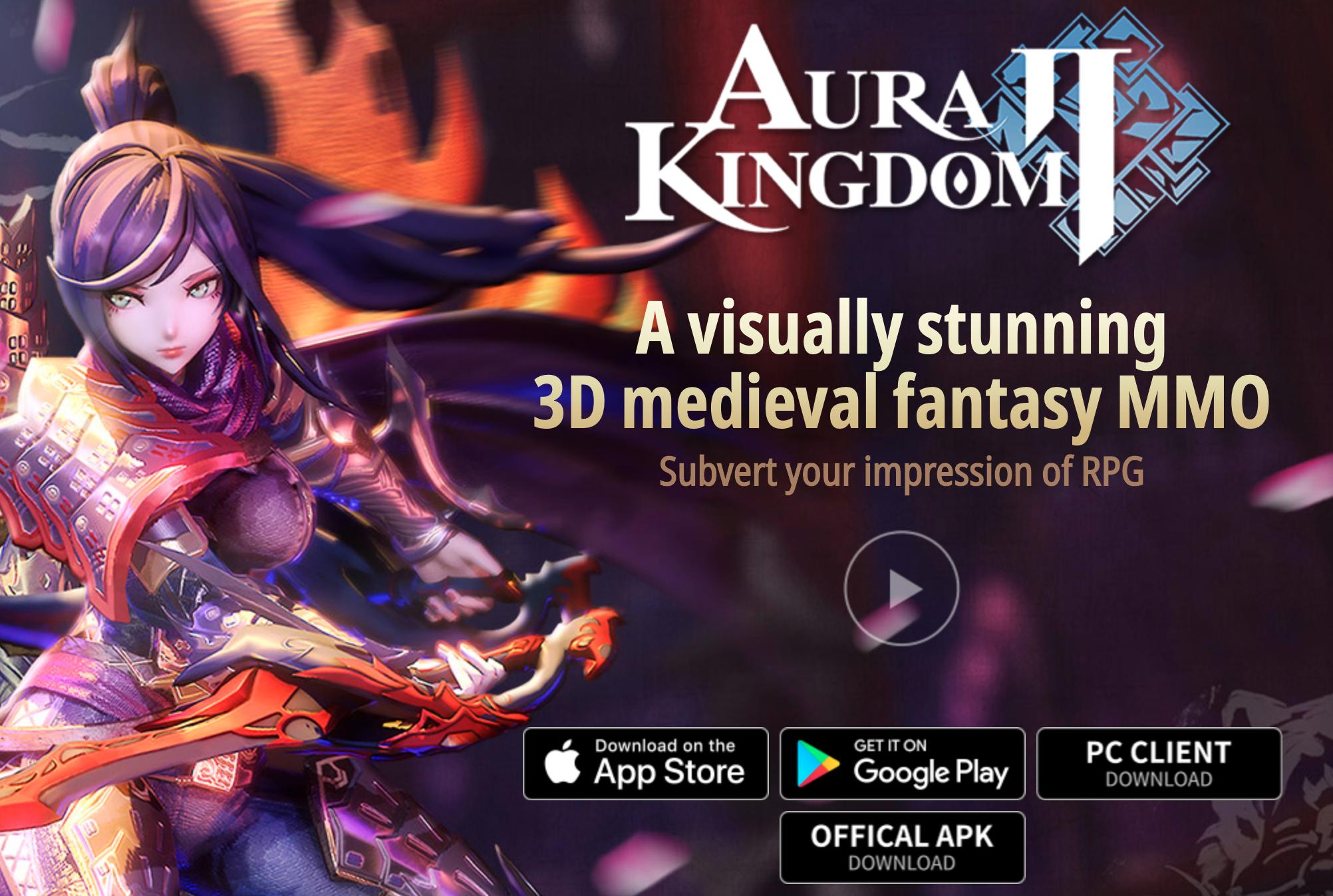 Aura Kingdom 2 émulateur de X-Legends pour jouer sur PC