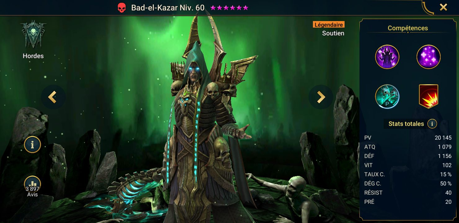 présentation bad el kazar raid shadow legends