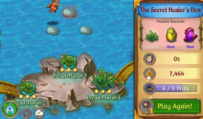 Niveau secret merge dragon 4