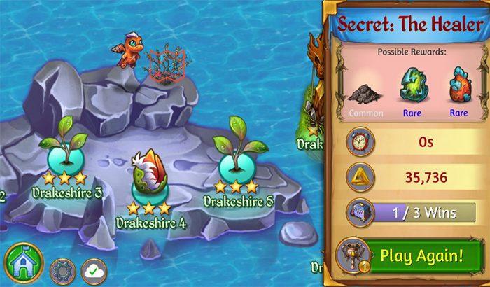 Niveau secret merge dragon 9