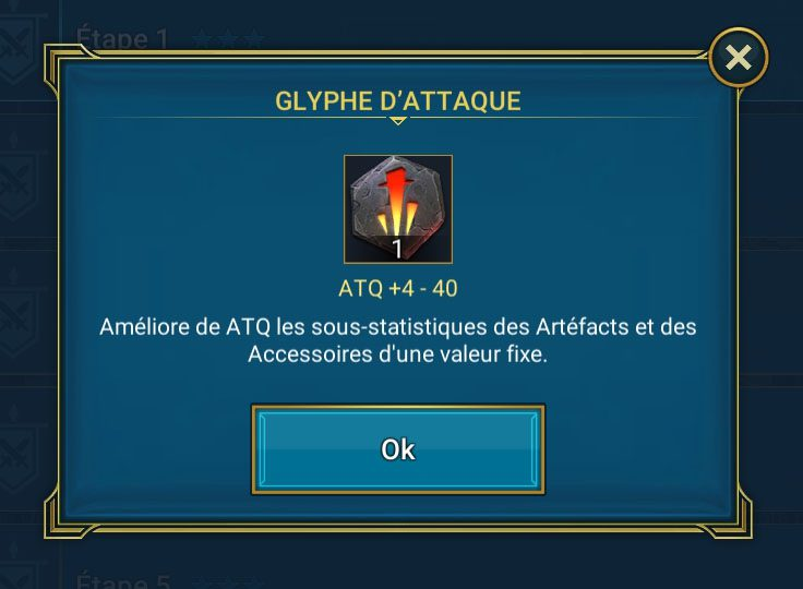 glyphe d'attaque