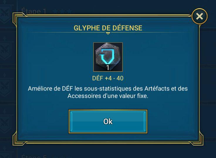 glyphe de défense