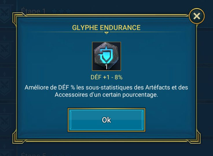 glyphe endurance
