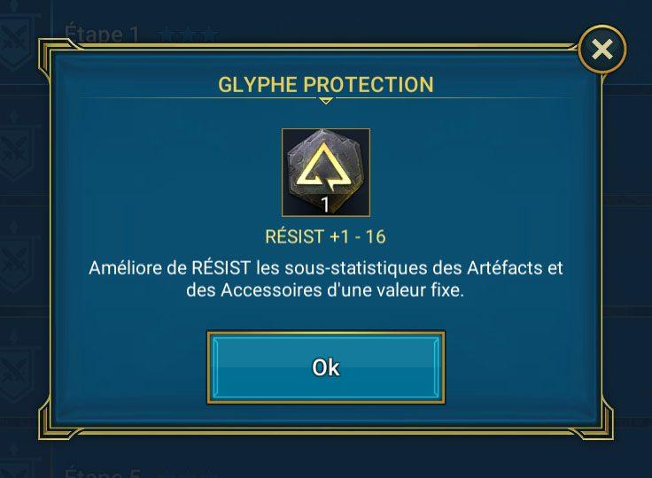 glyphe de protection