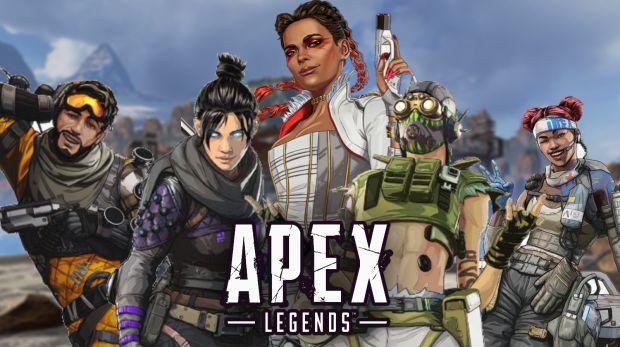 5 personnages d'Apex Legends