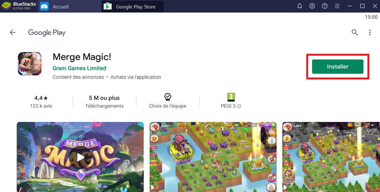 installer merge magic sur pc