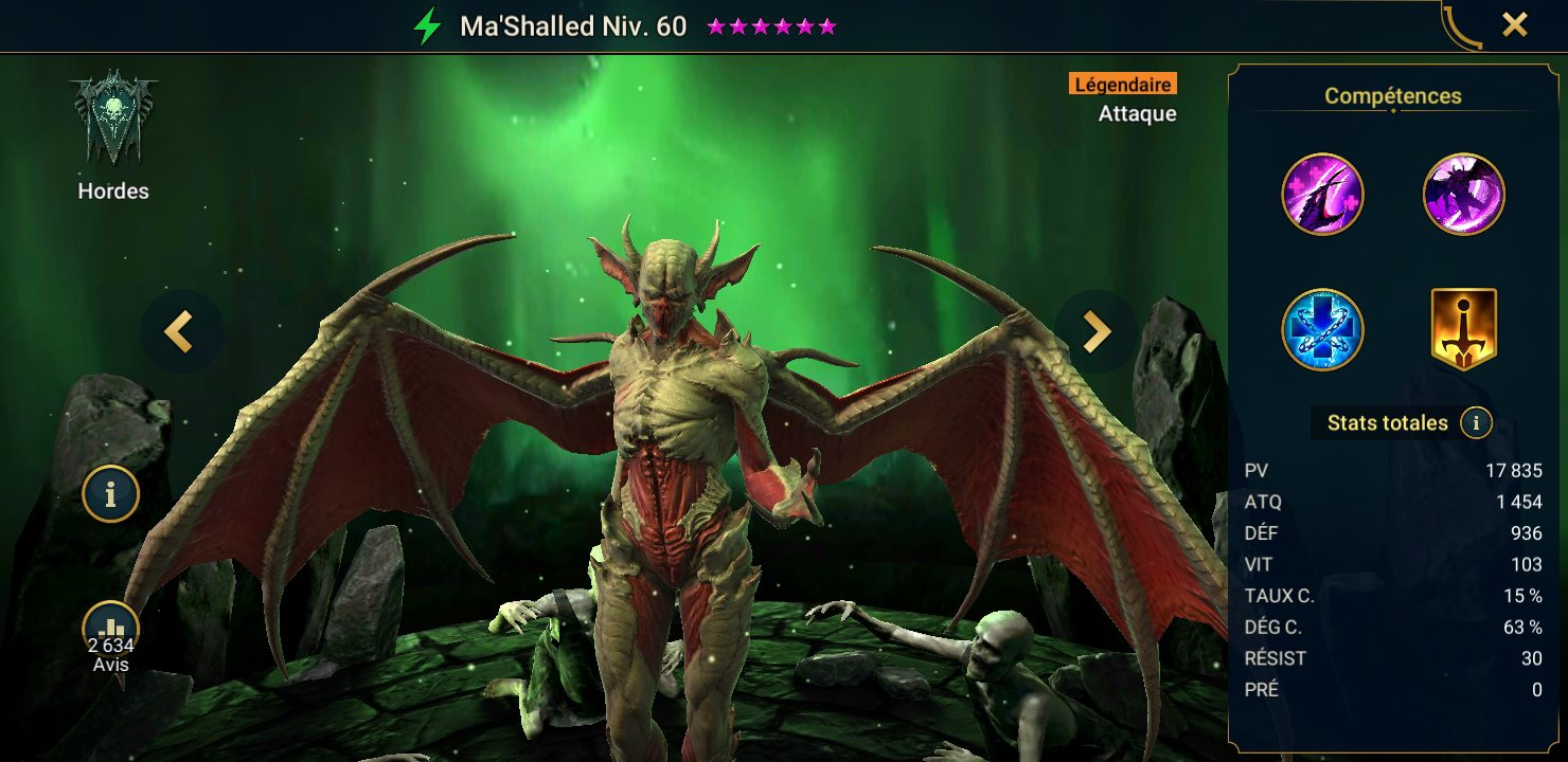 présentation mash'alled raid shadow legends