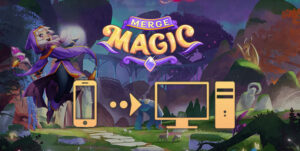 how to play merge magic on pc