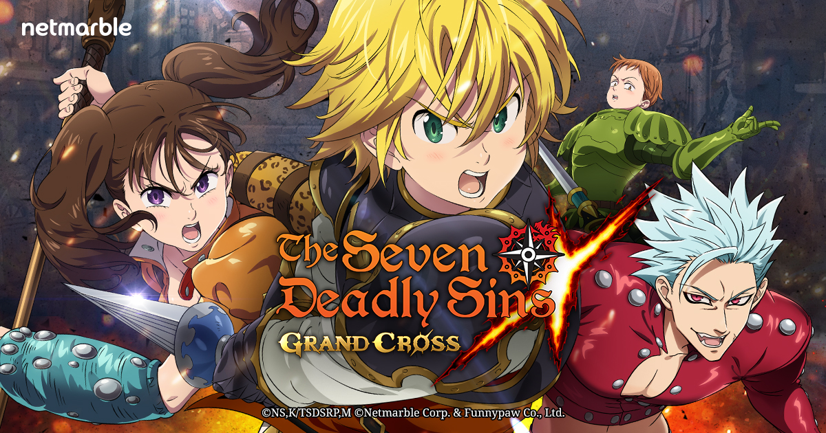 The Seven Deadly Sins: Grand Cross a game that pays off! - JeuMobi.com