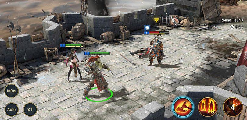 screenshot combats raid shadow legends