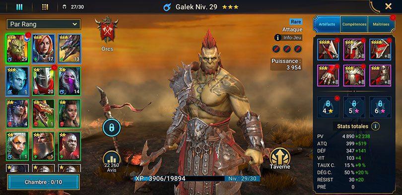 screenshot galek raid
