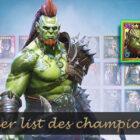 tier list raid shadow legends des meilleurs champions