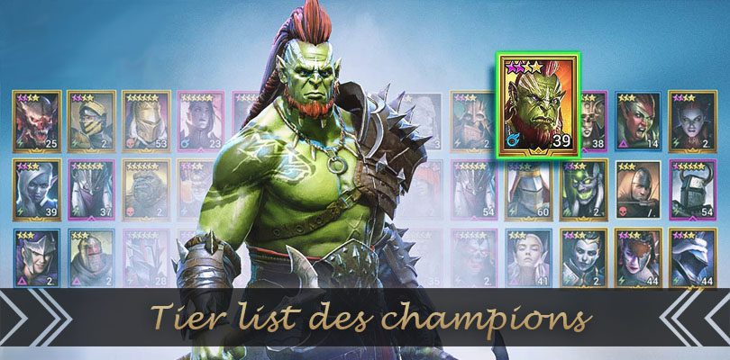 Tier List Raid Shadow Legends Of The Best Champions Jeumobi Com