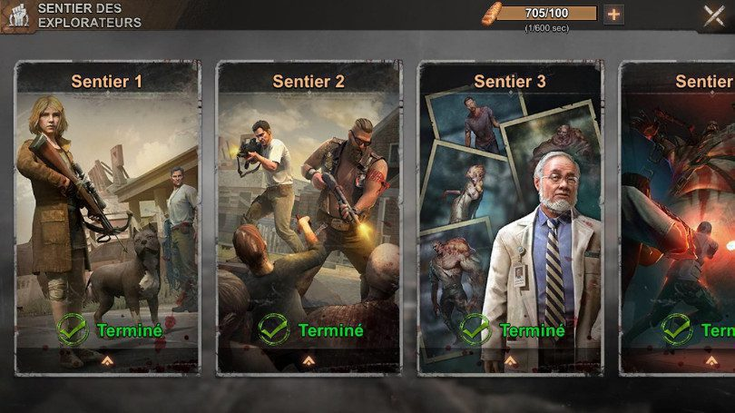 State of Survival - missions sentiers