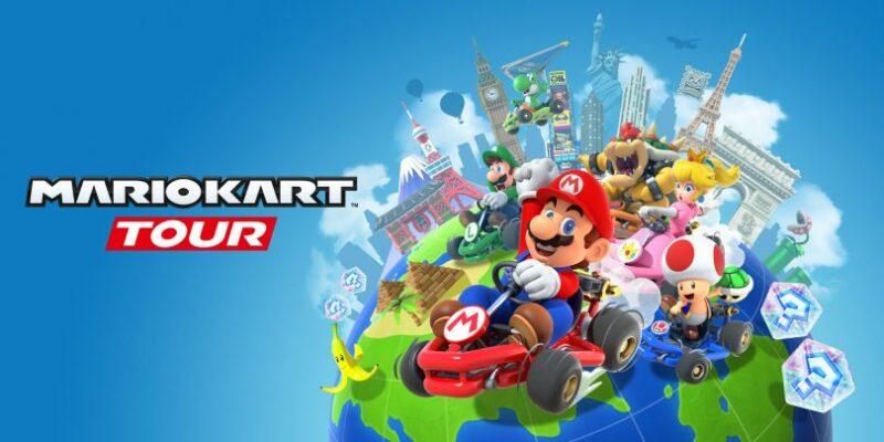 Mario Kart Tour mode paysage