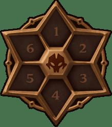 Les emplacements des runes dans Summoners War