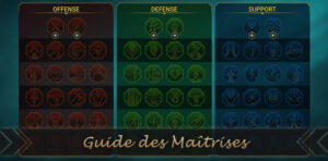 guide des maîtrises de raid shadow legends
