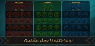 guide des maîtrises de raid shadow legends