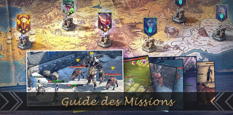 guide des missions de raid shadow legends