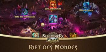 guide Rift of Worlds summoners war