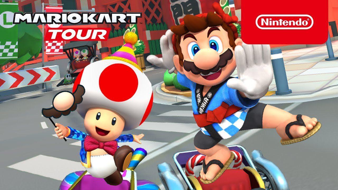 Le bonheur des joueurs avec le mode paysage sur Mario Kart Tour