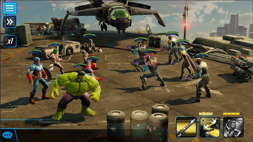 marvel strike force gacha game