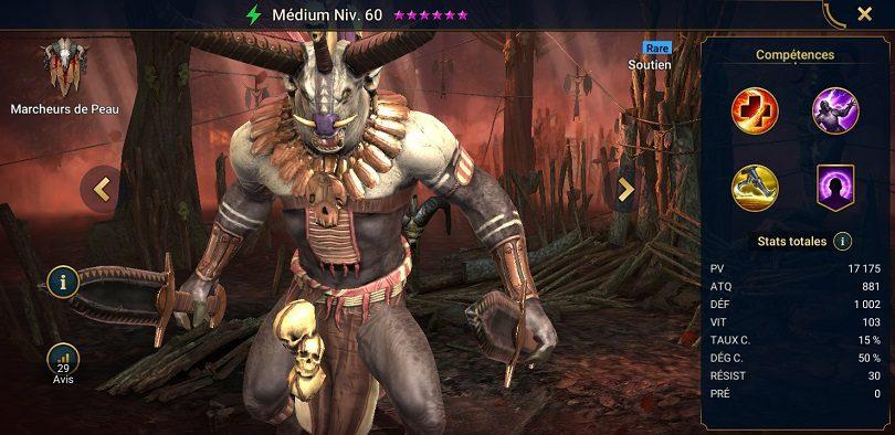 Guide de Channeler, champion de RAID: Shadow Legends