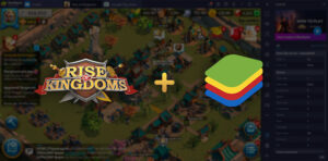 optimiser rise of kingdoms bluestacks