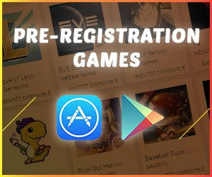 mobile games in pre-registration