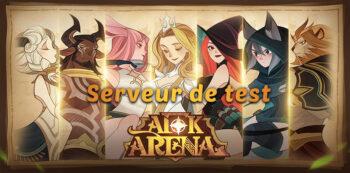 server test afk arena
